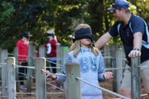 Blind-folded-challenge-course